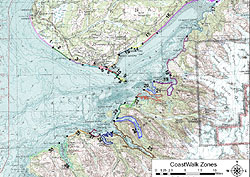 Kachemak Bay CoastWalk Zones